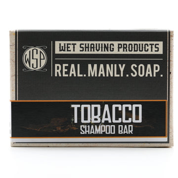 Shampoo & Beard Wash Bar 4.5 oz 100% Vegan & Natural (Tobacco)