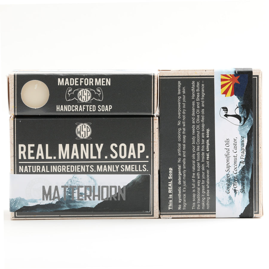 Limited Edition (Matterhorn) Castile Hand & Body Soap Bar 4.5 oz Vegan Natural Ingredients