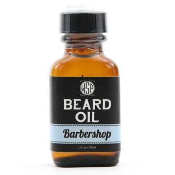 Beard & Mustache Oil - Natural, Simple, & Vegan (Barbershop)