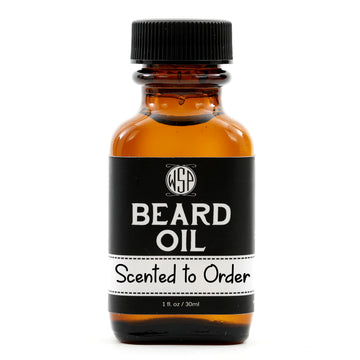 Scented to Order Beard & Mustache Oil - Natural, Simple, & Vegan