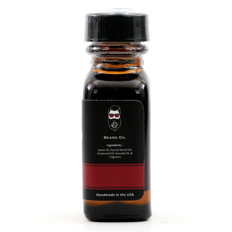 Beard & Mustache Oil - Natural, Simple, & Vegan (Sandalwood)