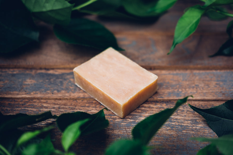 Real. Sexy. Soap. Castile Bar Soap 4.5 oz (Oatmeal & Honey) Vegan & Natural