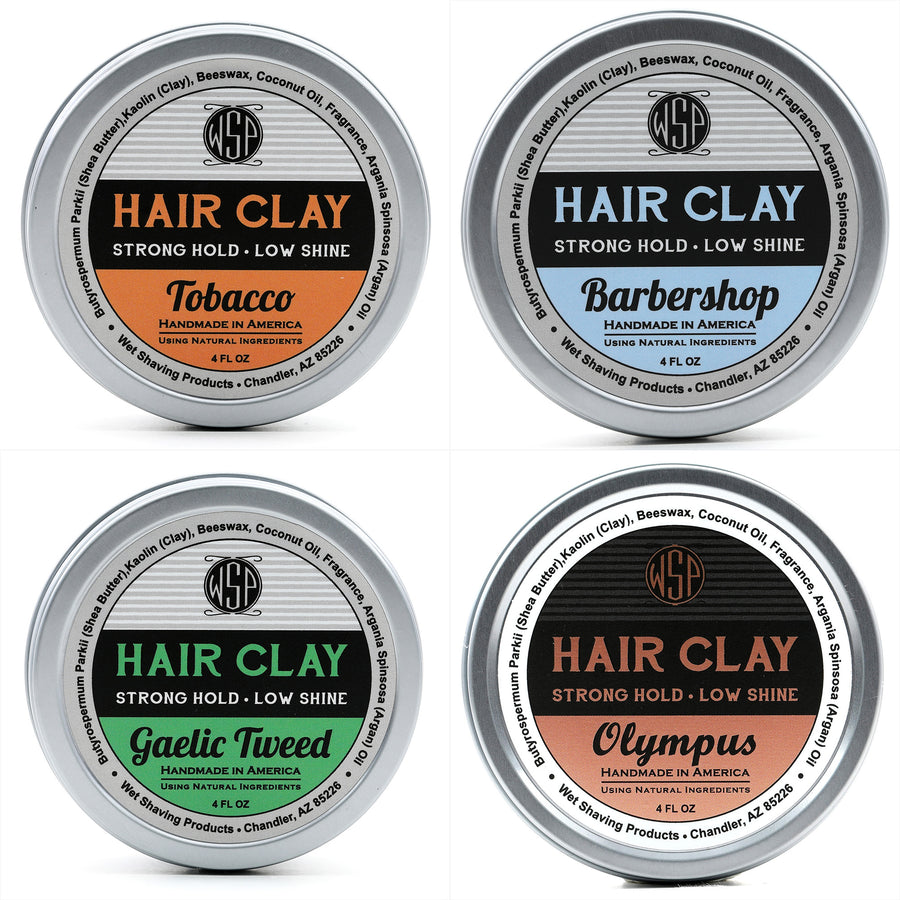 DENTED TIN Hair Clay 4 oz FINAL SALE