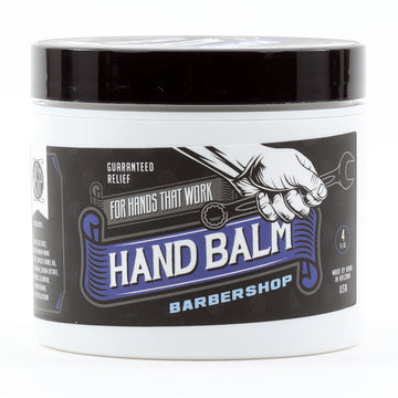 Blue Collar Hand Balm - Guaranteed Relief For Hands that Work (Barbershop)