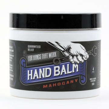 Blue Collar Hand Balm - Guaranteed Relief For Hands that Work (Mahogany)