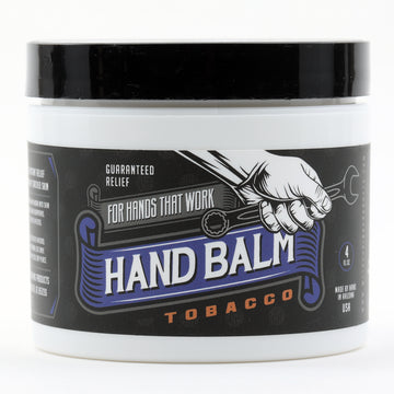 Blue Collar Hand Balm - Guaranteed Relief For Hands that Work (Tobacco)