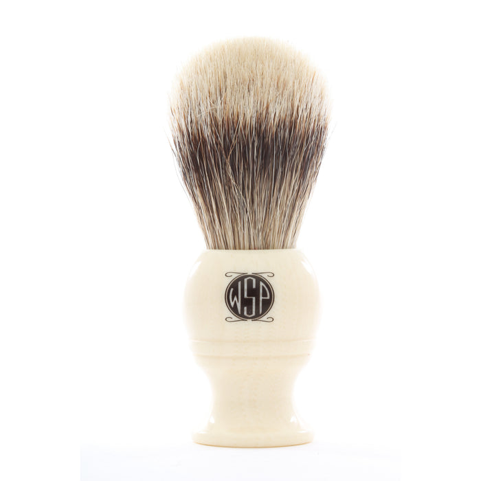 "WSP ""Monarch"" High Mountain White High Density Shaving Brush"