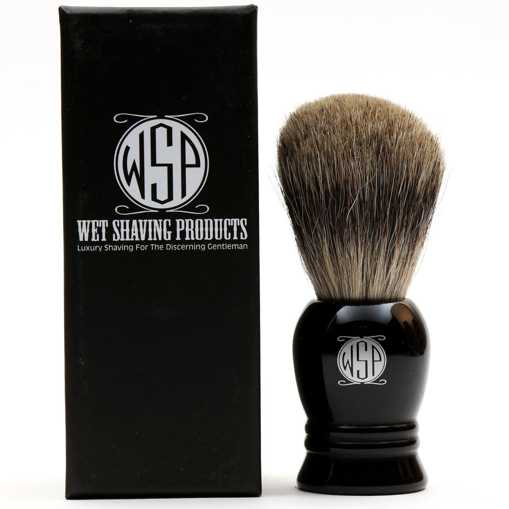 "WSP ""Prince"" High Density 100% Pure Badger Shaving Brush"