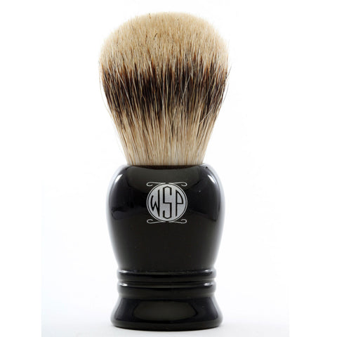 "WSP ""Prince"" High Density Premium Silvertip Badger Shaving Brush"