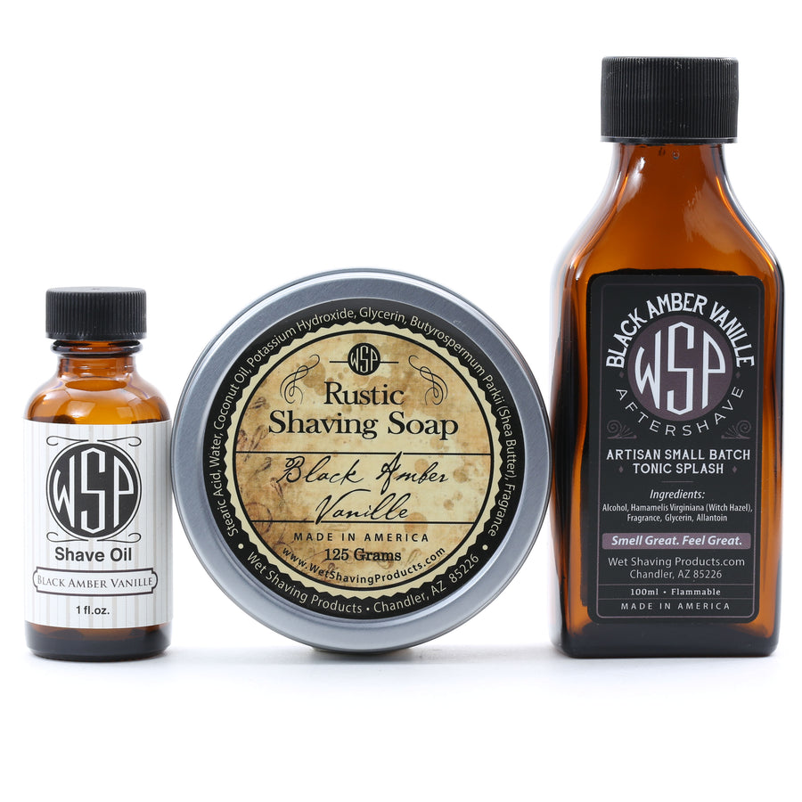 Aftershave Tonic Splash 100ml Artisan & Small Batch (Black Amber Vanille)