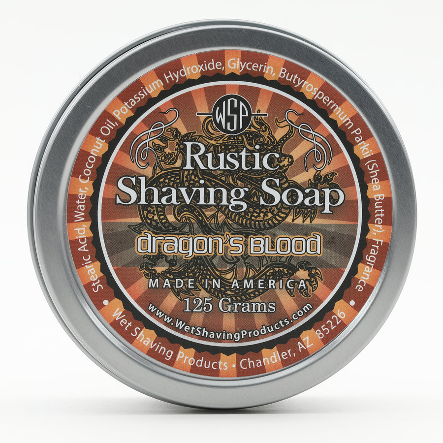 Limited Edition (Dragon's Blood) - Rustic Shaving Soap Vegan & Natural 4 fl oz