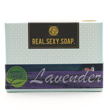 Real. Sexy. Soap. Castile Bar Soap 4.5 oz (Lavender) Vegan & Natural