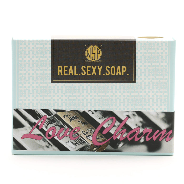 Real. Sexy. Soap. Castile Bar Soap 4.5 oz (Love Charm) Vegan & Natural