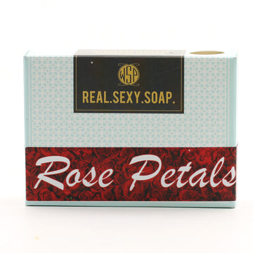 Real. Sexy. Soap. Castile Bar Soap 4.5 oz (Rose Petals) Vegan & Natural