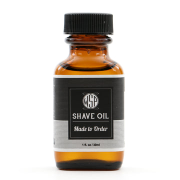 Scented to Order Pre & Post Shave Oil - Natural, Vegan, & Simple