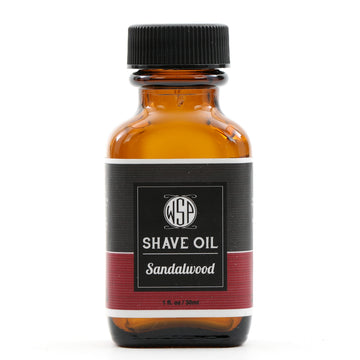 Pre & Post Shave Oil - Natural, Vegan, & Simple (Sandalwood)
