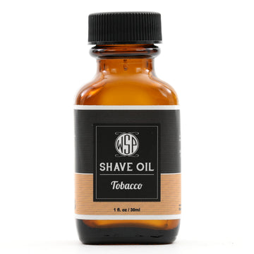 Pre & Post Shave Oil - Natural, Vegan, & Simple (Tobacco)
