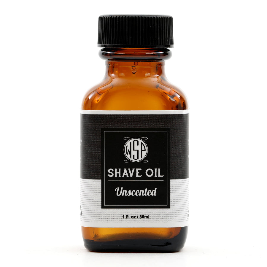 Pre & Post Shave Oil - Natural, Vegan, & Simple (Unscented)