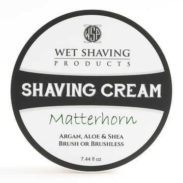 Limited Edition Shaving Cream 7.44 oz (Matterhorn) Featuring Argan & Aloe