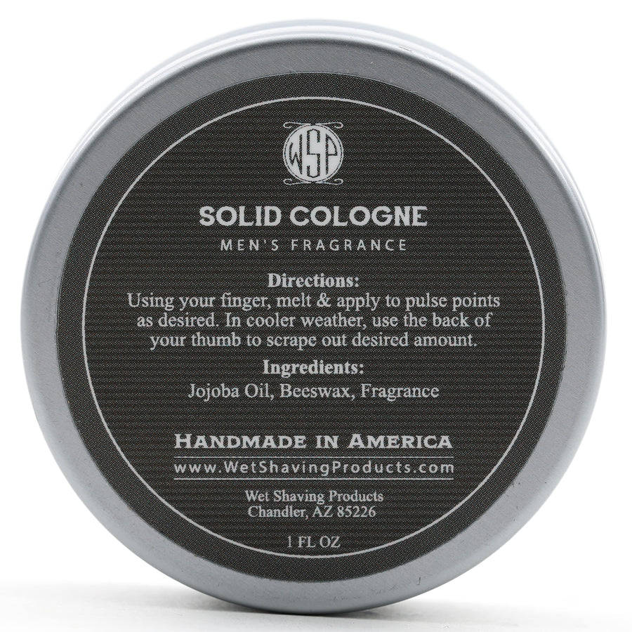 Solid Cologne EdP Strength Signature Scent - Tobacco Vanilla 1 oz in tin
