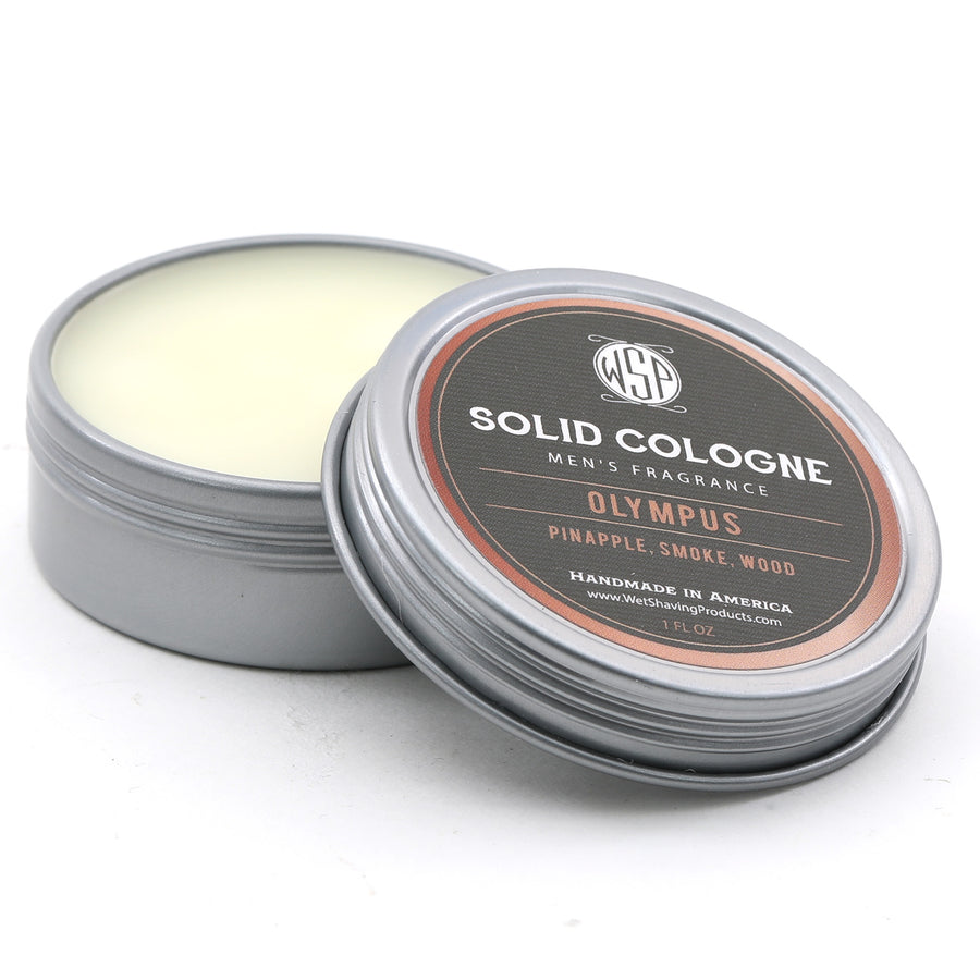 Solid Cologne EdP Strength (Olympus) 1 oz in tin