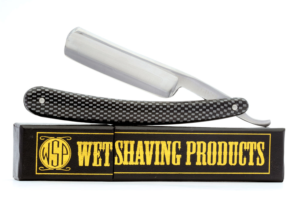 Shave Ready Starter Straight Razor & Box Gold Dollar 208 Carbon Steel