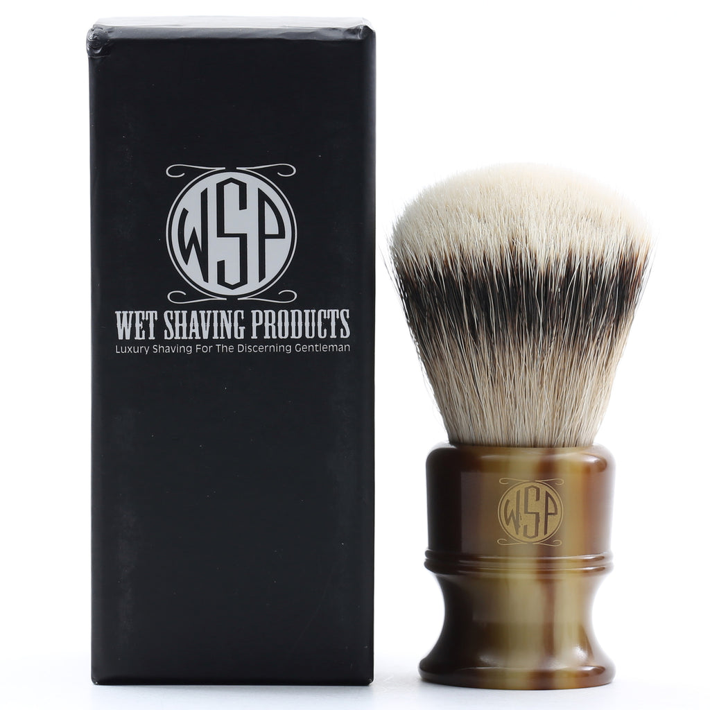 "WSP ""Stubby"" Extra Dense Premium Silvertip Badger Shaving Brush (Large 26mm)"