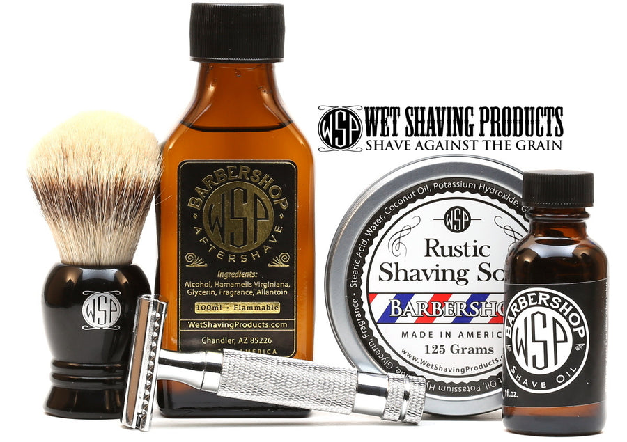 Rustic Shaving Soap Vegan & All Natural 4.4 oz; 125 g (Barbershop)