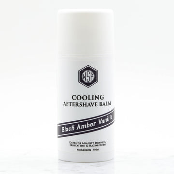 Cooling Aftershave Balm 3.4oz 100ml (Black Amber Vanille)