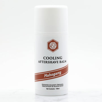 Cooling Aftershave Balm 3.4oz 100ml (Mahogany)