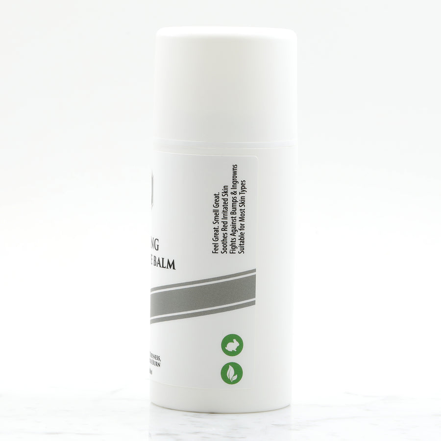 Cooling Aftershave Balm 3.4oz 100ml (Unscented for Sensitive Skin)