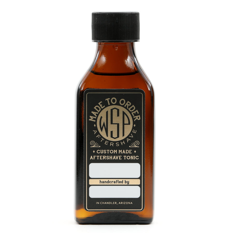 Cooling (Mentholated) WSP Small Batch Artisan Aftershave Tonic Splash 100ml (Scented to Order Mentholated)