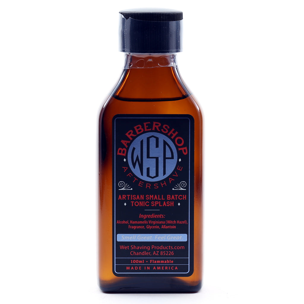 WSP Artisan Small Batch Aftershave Tonic Splash 100ml (Barbershop)