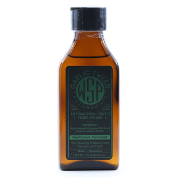 Aftershave Tonic Splash 100ml Artisan & Small Batch (Gaelic Tweed)