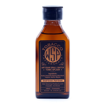 Aftershave Tonic Splash 100ml Artisan & Small Batch (Tobacco)