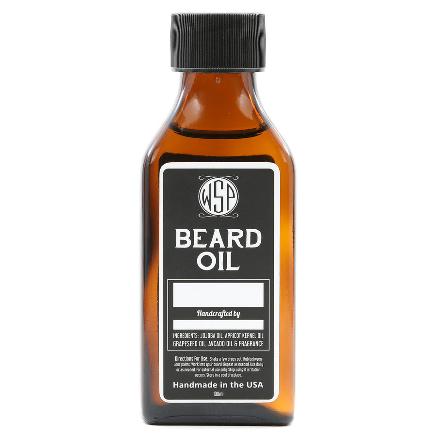100 ml Scented to Order Beard & Mustache Oil - Natural, Simple, & Vegan (3.4 fl oz)