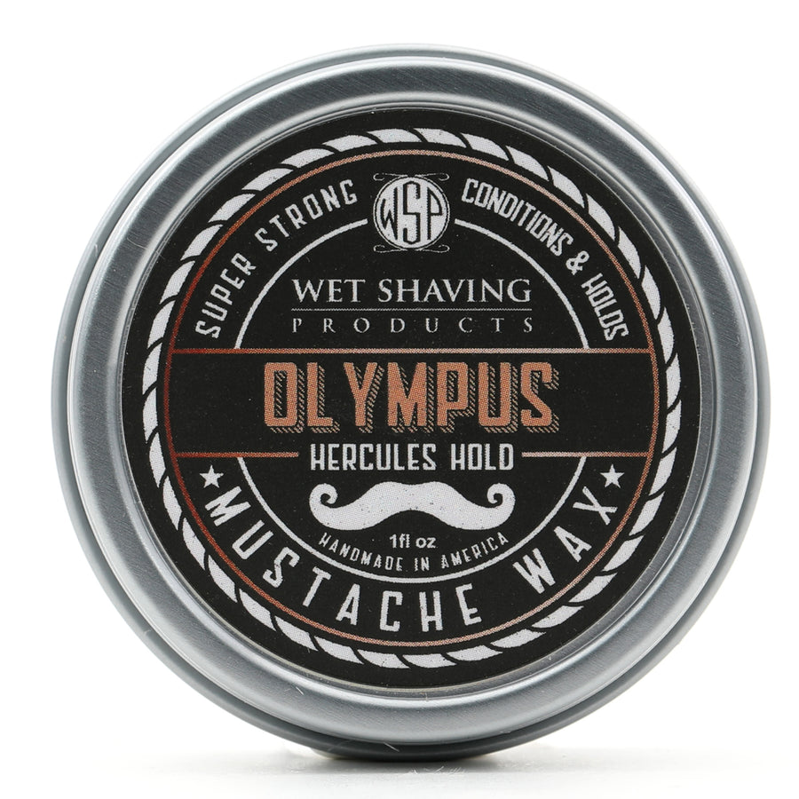 Mustache Wax Hercules Hold by WSP - 1 oz (Olympus) Natural & Vegetarian