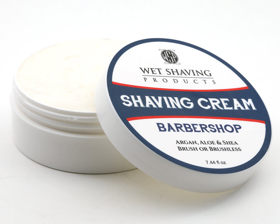 Shaving Cream 6 oz (Barbershop) Featuring Argan & Aloe
