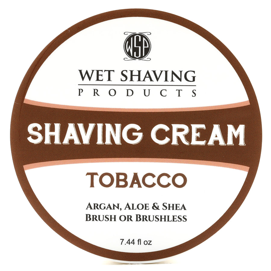 Shaving Cream 7.44 oz (Tobacco) Featuring Argan & Aloe