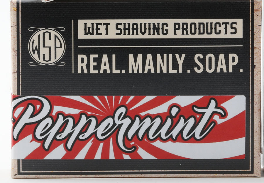 Limited Edition - Peppermint - Castile Hand & Body Soap Bar 4.5 oz Vegan Natural Ingredients