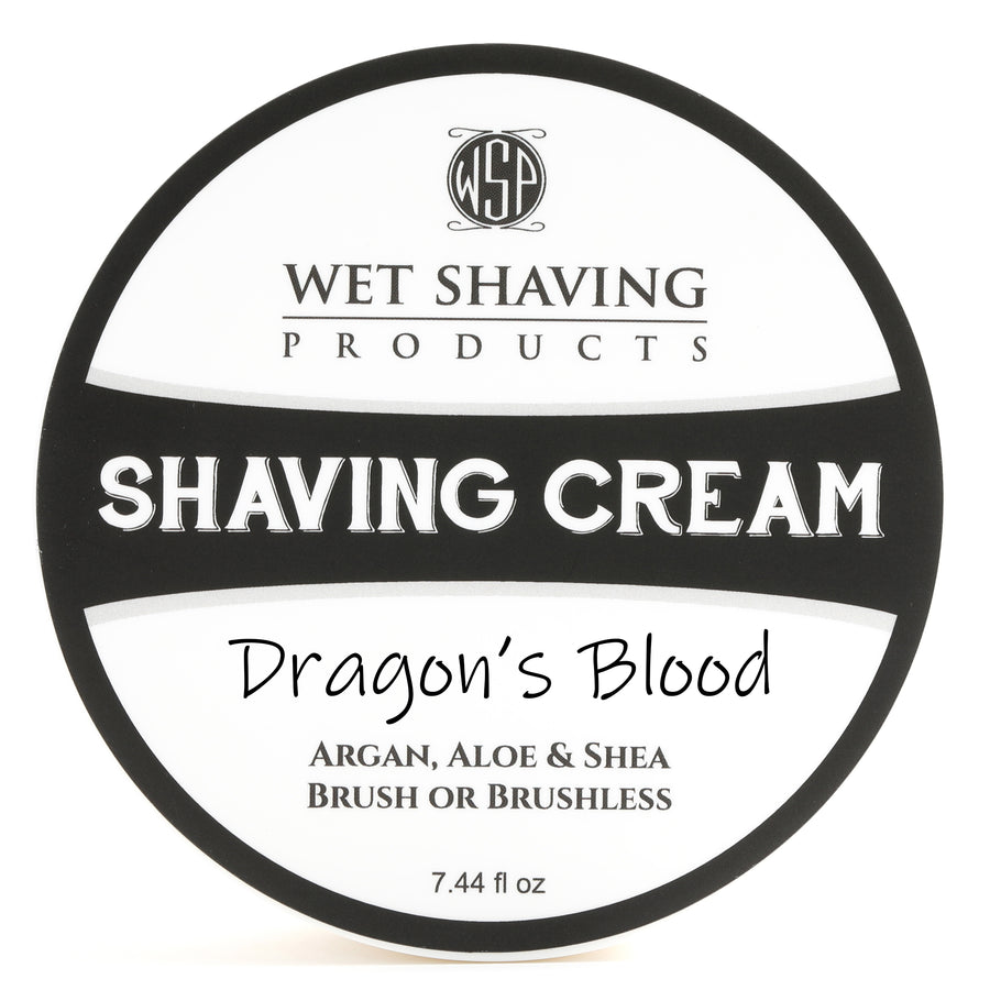 Limited Edition Shaving Cream 7.44 oz (Dragon's Blood) Featuring Argan & Aloe
