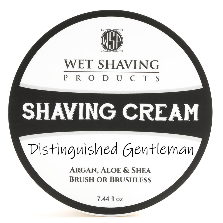 Limited Edition - Distinguished Gentleman - Shaving Cream 7.44 oz Featuring Argan & Aloe