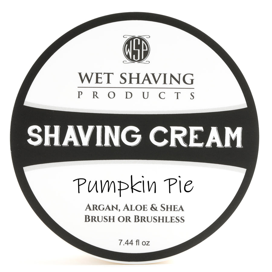 Limited Edition - Pumpkin Pie - Shaving Cream 7.44 oz Featuring Argan & Aloe