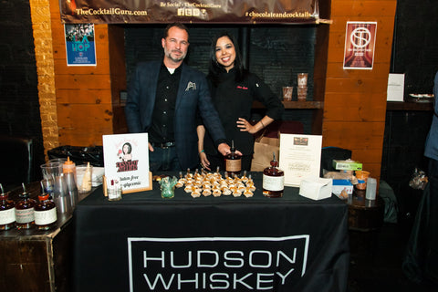 Hudson Whiskey Chocolate gluten free dessert
