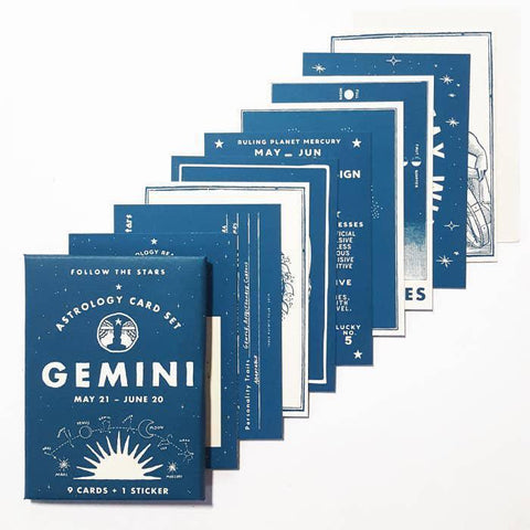 Astrology Card Set
