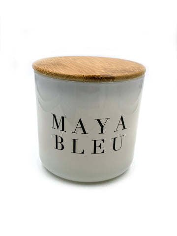 Maya Bleu Shark Tooth Candle