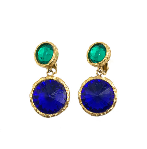 Unsigned 1908's Vintage Earrings