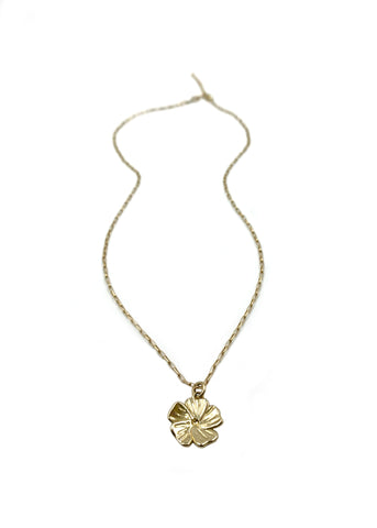 14k gold Mini Tay Necklace