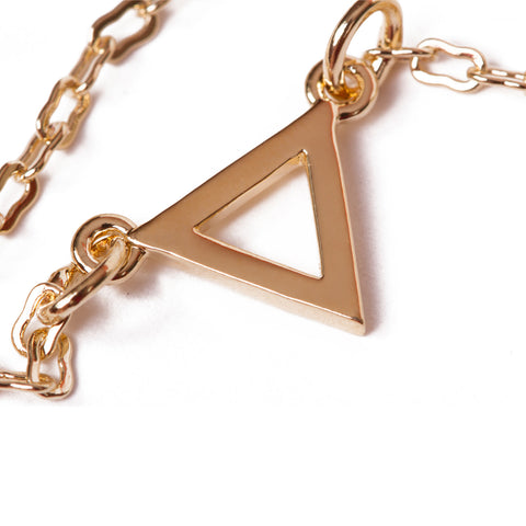 Olwen Classics Triangle Charm Necklace