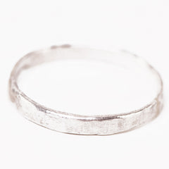 Handmade Sterling Band Ring